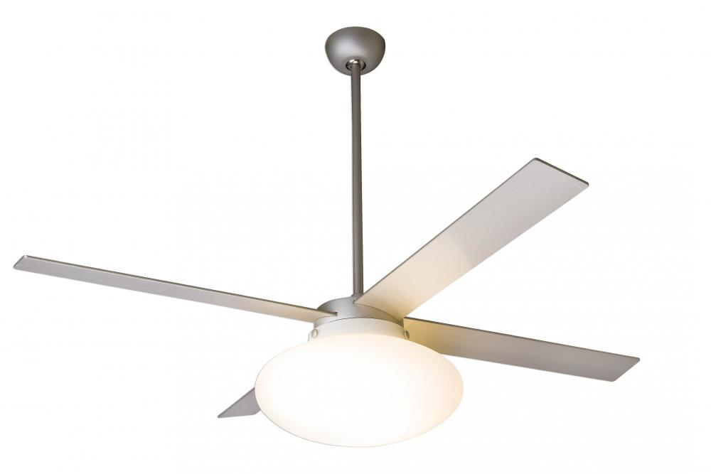 "Cloud Fan; Textured Nickel Finish; 52"" Nickel Blades; 20W LED; Fan Speed and Light Control (3-wi"