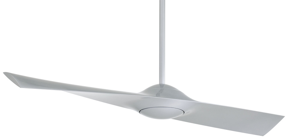 "Ceiling Fan Warehouse in Hallandale Beach, Florida, United States, Minka-Aire F823-SL, Wing 52"" - Silver, Wing"