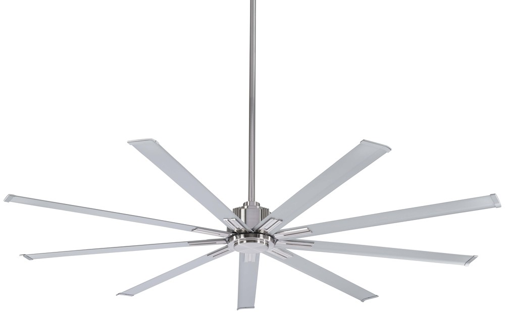 "Ceiling Fan Warehouse in Hallandale Beach, Florida, United States, Minka-Aire F887-72-BN, Xtreme 72"" - Brushed Nickel, Xtreme"