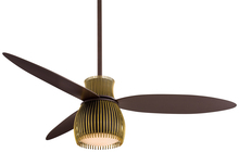 "Minka-Aire F824-ORB/TB - Uchiwa 56"" - Oil Rubbed Bronze/Toned Brass"