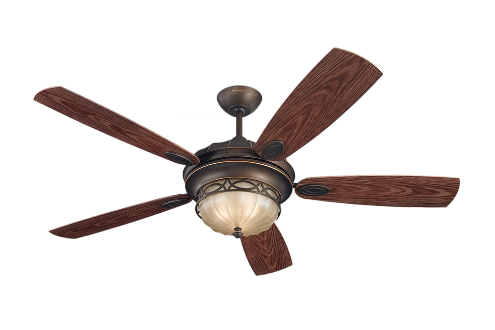"56"" Drawing Room Outdoor Fan - Roman Bronze"