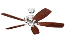 Monte Carlo 5RYEP - Royalton Fan - Blades Separate - English Pewter