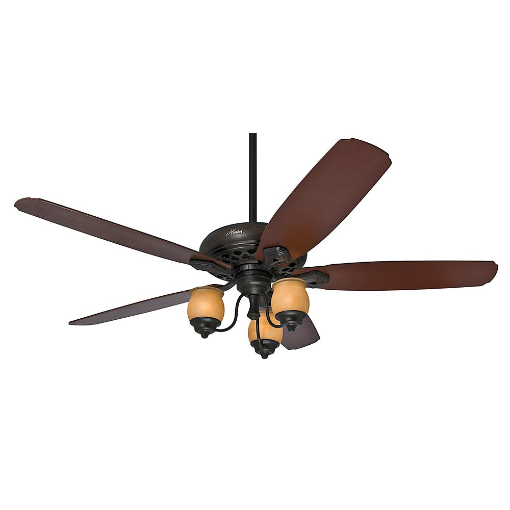 "64"" Ceiling Fan with Light and Remote"