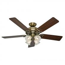 "Hunter Fan Co. 53063 - 52"" Ceiling Fan with Light"