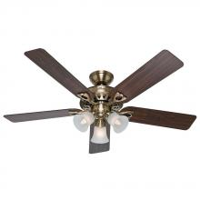 "Hunter Fan Co. 53115 - 52"" Ceiling Fan with Light and Remote"